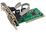 Контроллер PCI to 2*Serial (COM) +1LPT ports