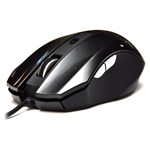 Мышь DeTech DE-5040G Rubber Shiny Black, USB