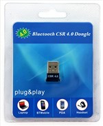 Адаптер Bluetooth USB 2.0 v4.0 HQ-Tech BT4-S1, Extra Slim, Qualcomm CSR8510
