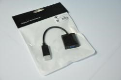 Переходник DisplayPort(male) -VGA(female), (папа-мама), 10см