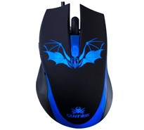 Мышь игровая Sunt GM263 Batman, 6D, USB, 1600 dpi