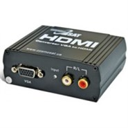 Конвертер VGA + Audio to HDMI (HDV01) активный